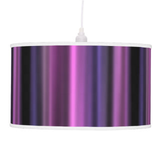 Purple Stripe Pendant Lamp