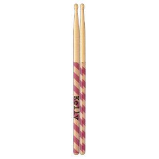 Purple Stripes Drum Sticks