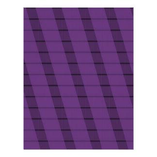 Purple Stripes on More Purple Custom Flyer