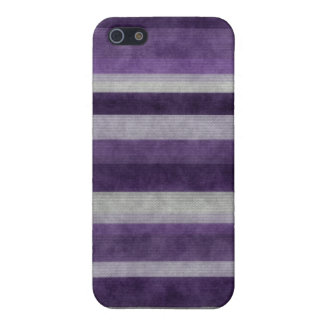 Purple Stripes Pattern iPhone 5 Case Matte