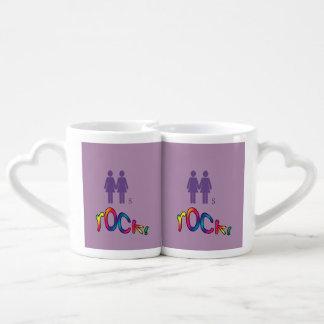 Purple Style Lesbian Mugs
