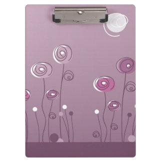 Purple Summer Clipboard