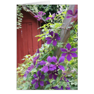 Purple Summer Haze Greeting Card