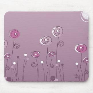 Purple Summer Mouse Pad