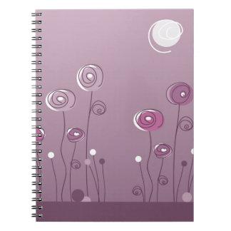 Purple Summer Note Books