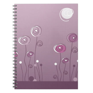 Purple Summer Notebooks