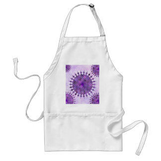 purple sun - home decor & set standard apron