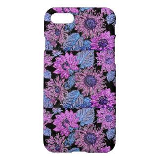 Purple Sunflower Iphone 7 Matte Case