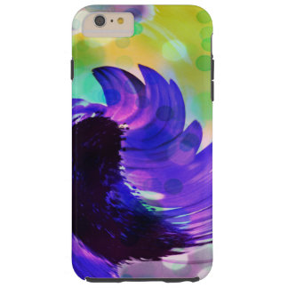 Purple Sunflower Swirl iPhone 6 Plus Case