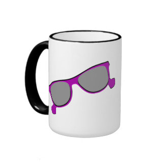 Purple Sunglasses Mugs
