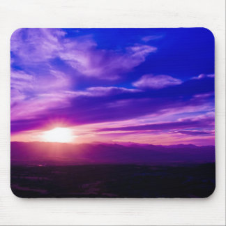 Purple Sunset Mousepad