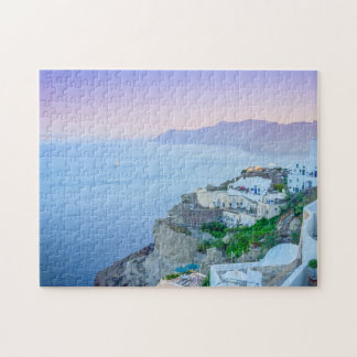 Purple Sunset Puzzle