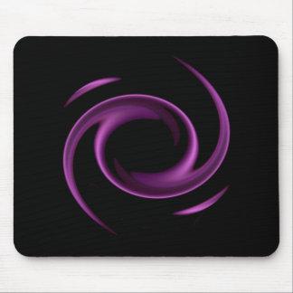 Purple Swirl Design Mousepad