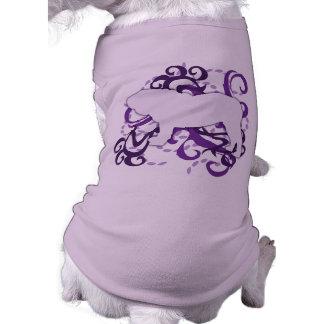Purple Swirl English Bulldog Shirt