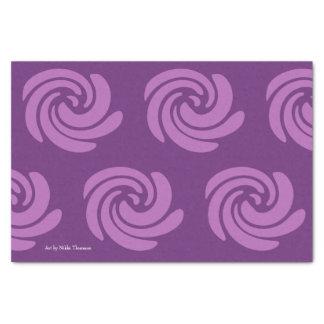 Purple Swirl Tissue Paper