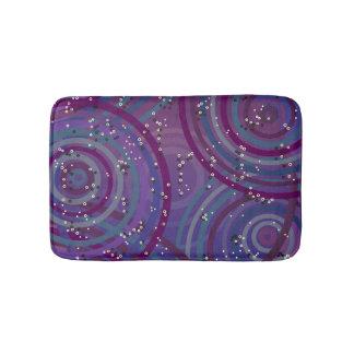 Purple Swirls Bathmat