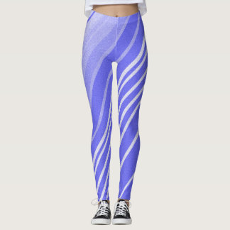 Purple Swizzle Sticks Leggings