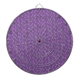 Purple Tears Dart Board