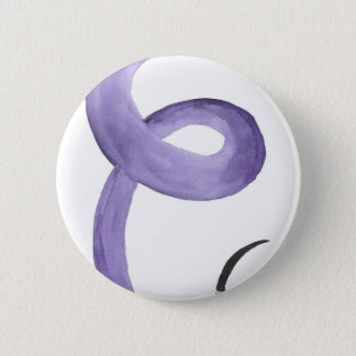 Purple Tentacle 2 Inch Round Button