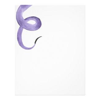 Purple Tentacle Letterhead