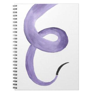 Purple Tentacle Notebook