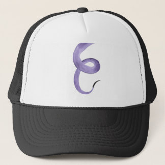 Purple Tentacle Trucker Hat