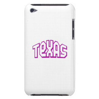 Purple Texas Barely There iPod Cases
