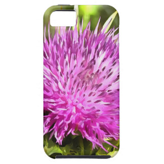 Purple Thistle Wildflower iPhone 5 Covers