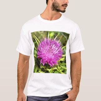 Purple Thistle Wildflower T-Shirt