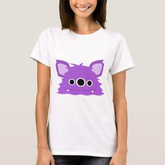 Purple Three Eyed Monster T-Shirt