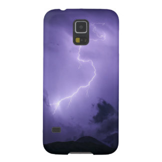 Purple Thunderstorm at Night Galaxy S5 Cases