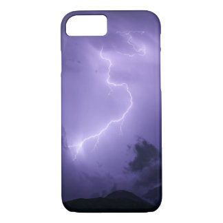 Purple Thunderstorm at Night iPhone 8/7 Case