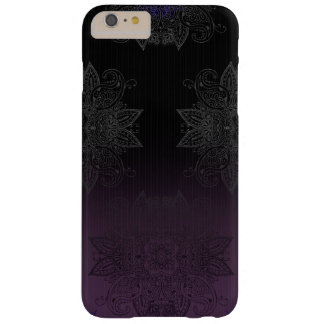 Purple to Black Fade Mehndi Barely There iPhone 6 Plus Case