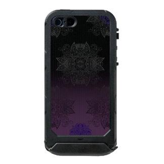 Purple to Black Fade Mehndi Incipio ATLAS ID™ iPhone 5 Case