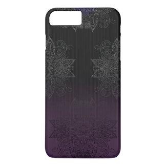 Purple to Black Fade Mehndi iPhone 8 Plus/7 Plus Case
