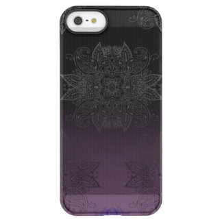 Purple to Black Fade Mehndi Permafrost® iPhone SE/5/5s Case