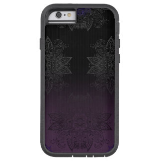 Purple to Black Fade Mehndi Tough Xtreme iPhone 6 Case