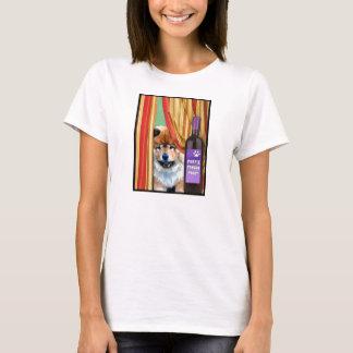 PURPLE TONGUE PINOT by Sandra Miller T-Shirt