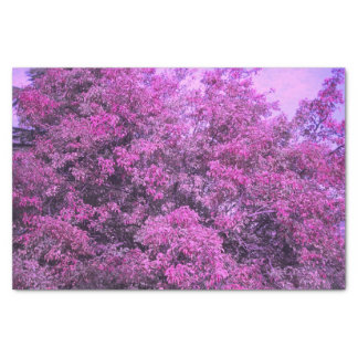 Purple Tree Tissue Paper