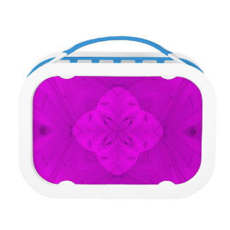 Purple trendy pattern lunch box