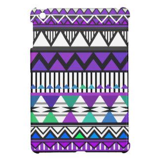 Purple Tribal 2 Pattern iPad Mini Case