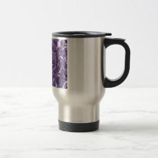Purple Trippy 15 Oz Stainless Steel Travel Mug
