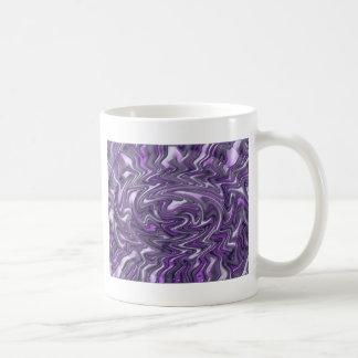Purple Trippy Classic White Coffee Mug