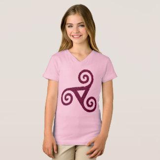 purple Triskele celtic T-Shirt
