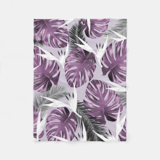Purple Tropics Blanket