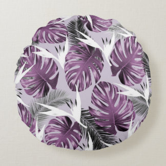 Purple Tropics Pillow