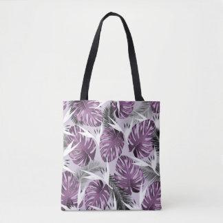 Purple Tropics Tote Bag