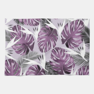 Purple Tropics Towel