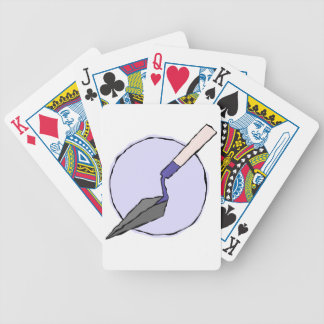 Purple Trowel - Archaeologist's Tool Kit Bicycle Playing Cards