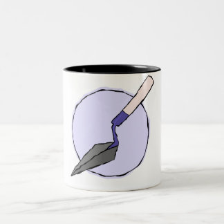Purple Trowel Mug - Archaeologist's Tool Kit